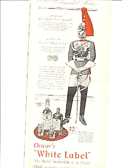 1942 Dewar White Label Scotch Ad (Image1)