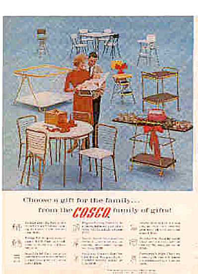 1962 Cosco Furniture Ad