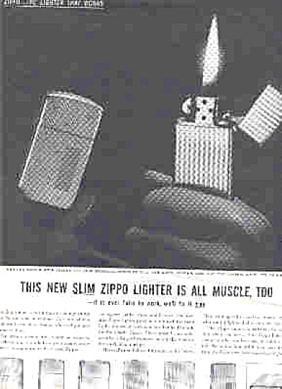 1959 Slim Zippo Lighter (Image1)