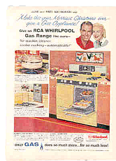 1958 Fred June MacMurray RCA Appliance Ad (Image1)
