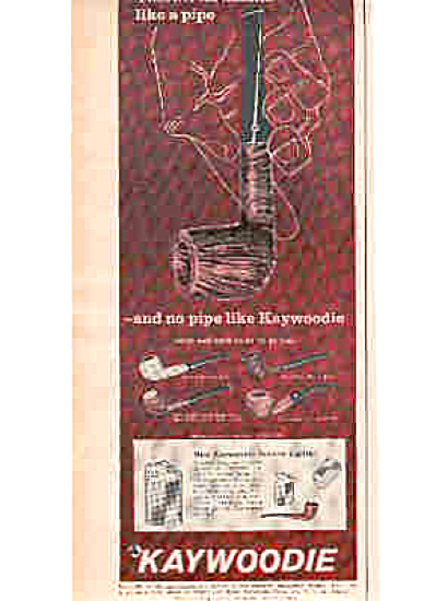 1963 Kaywoodie Pipe Ad (Image1)