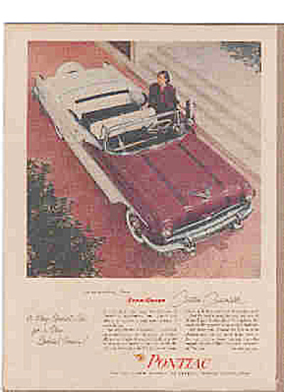 1956 Star Chief Custom Convertible Pontiac Ad (Image1)