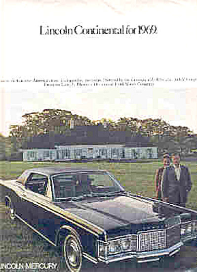 1969 Lincoln Continental Ad (Image1)