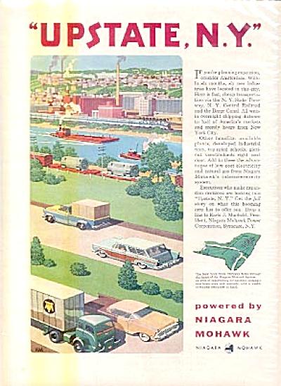 1957 Upstate, N.Y. Niagara Mohawk Ad (Image1)