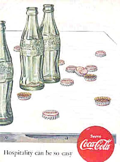 1952 Hospitality Coca-Cola Ad (Image1)