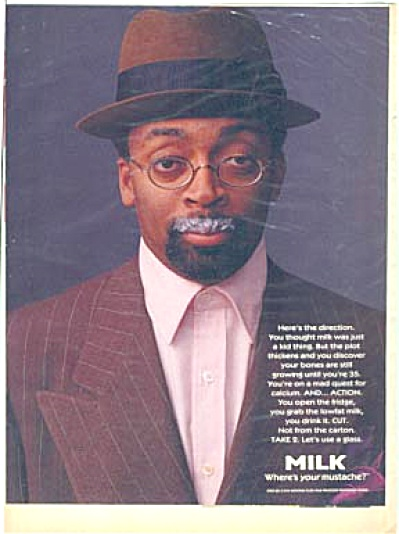 Spike Lee Milk Mustache Ad