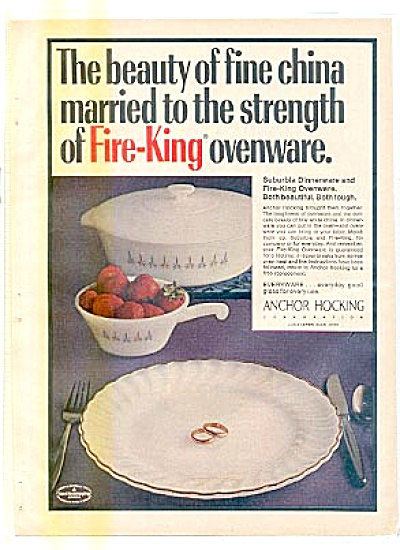 Fire-king Anchor Hocking Fine Ovenwear Ad