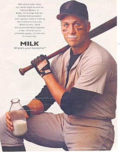 Cal Ripken Jr. Got Milk? Ad