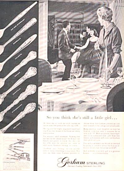 1957 Gorham Sterling Silver Silverware AD 7 (Image1)
