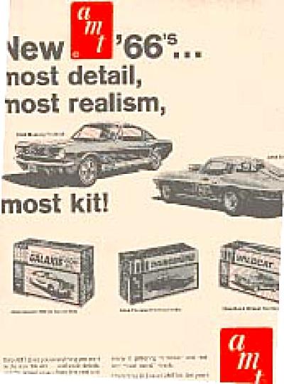 1965 Mustang , Galaxie, Thunderbird + AMT AD (Image1)
