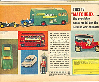 1965 Matchbox Scale Model Collector (Image1)
