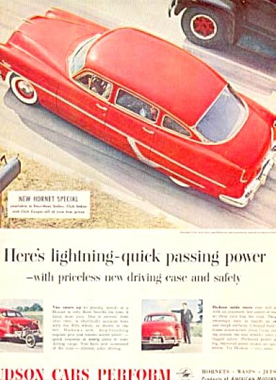 1954 Hudson Hornet Special  Ad (Image1)