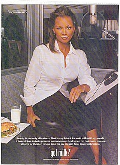Beautiful Vanessa Williams Got Milk Ad (Image1)