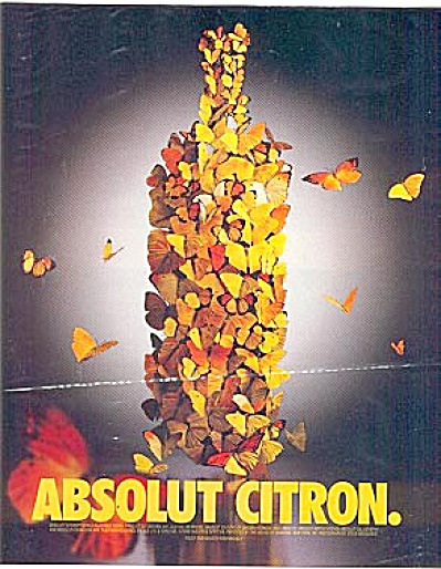 Absolute Citron BUTTERFLIES Butterfly Ad (Image1)
