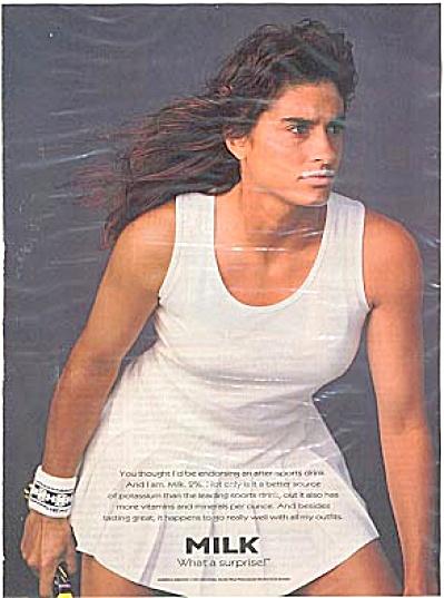 Gabriela Sabatini Got Milk Ad (Image1)