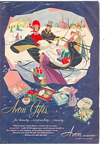 1951 Avon Gifts  Winter Wonderland Ad (Image1)