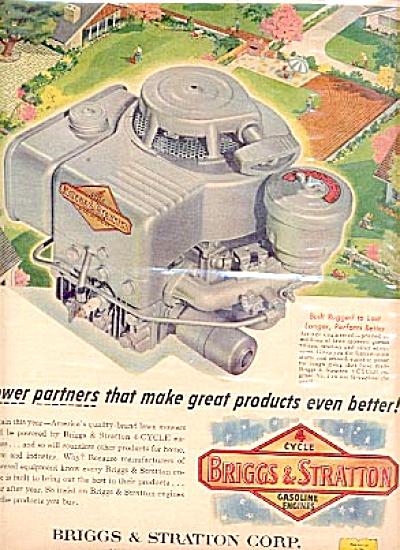 1957 Briggs& Stratton 4 Cycle Gasoline Engine (Image1)