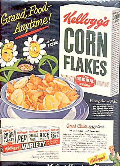 1949 Kellogg's Corn Flakes Daisy Ad (Image1)