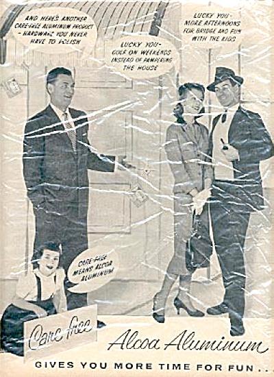 1957 2 Page Alcoa Aluminum Ad (Image1)