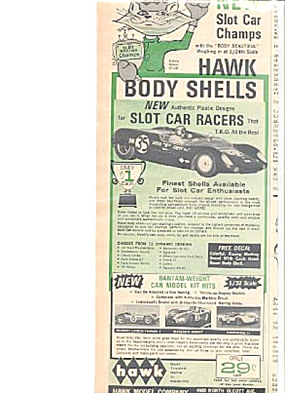 1965 Hawk Model Company Race  Car Ad (Image1)