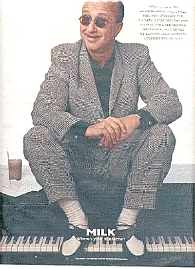 Paul Shaffer Got Chocolate Milk Ad