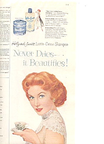 1956 Hollywoods Favorite Rhonda Fleming Ad (Image1)