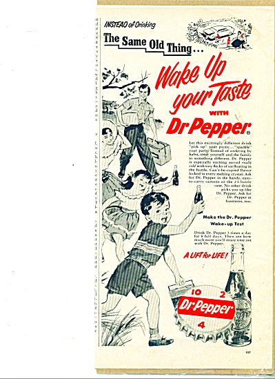 1954 Family Picinic Dr. Pepper Ad (Image1)