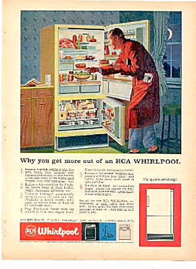 1959 RCA Whirlpool Family Appliances AD (Image1)