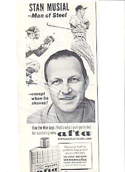 1964 Baseball Great StanThe Man Musial Ad (Image1)