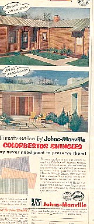 1956 Colorbestos Asbestos Johns-Manville Ad (Image1)