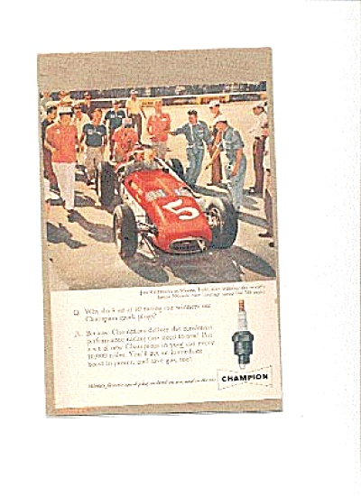 1959 Jim Rathmann Monza Italy Champion Ad (Image1)