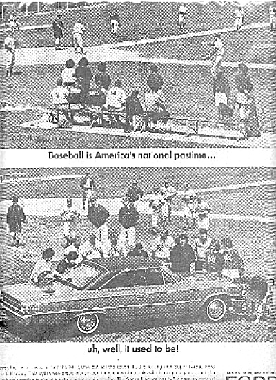 1963 Baseball America's National Pastime Ford (Image1)