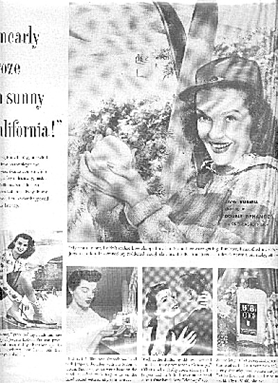 1952 Jane Russell In Double Dynamite Ad (Image1)