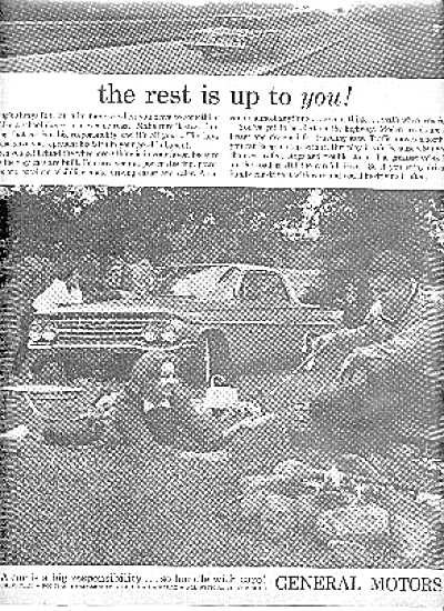 1960 General Motors Wiener Roast Boy/Girl Ad (Image1)