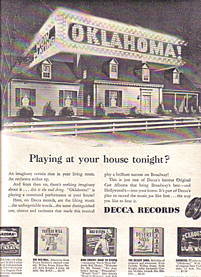 1946 Decca Records Bing Crosby Ad (Image1)
