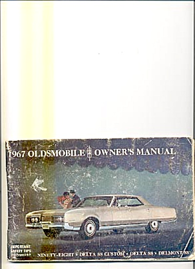 Original Car Owners Manual 1967 Oldsmobile (Image1)