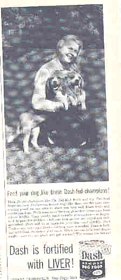 1953 Twin Beagles Faith Hope Dash  DogFood Ad (Image1)