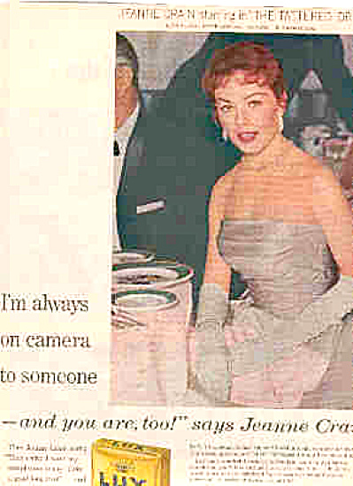 1957 Jeanne Crain Lux Soap Ad (Image1)
