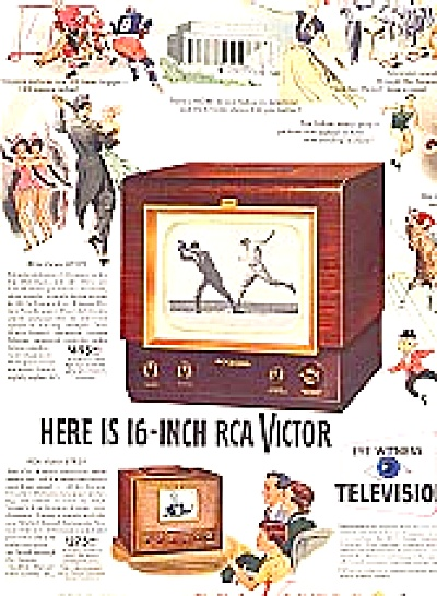 1949 RCA Victor Television Models AD (Image1)