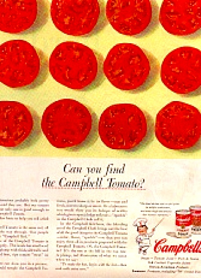 1956 Campbell Tomato Soup Ad (Image1)