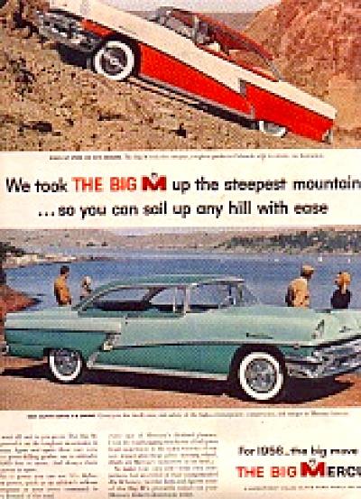 1956 The Big Mercury Car Ad (Image1)