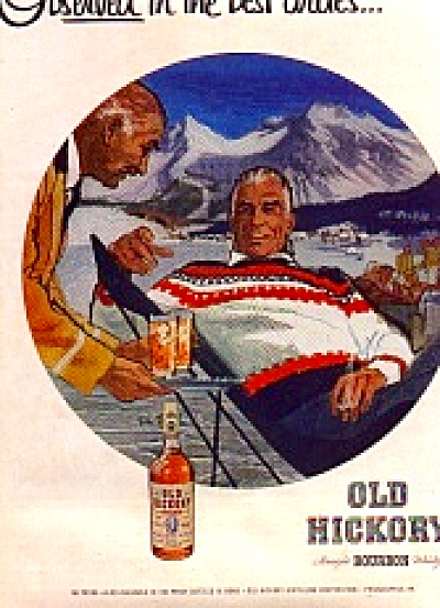 1956 Old Hickory Rich Men Mountain Ad