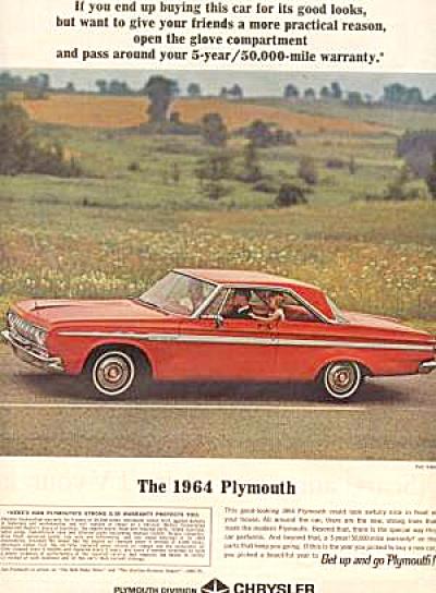 1964 PLYMOUTH FURY  Hardtop (Image1)