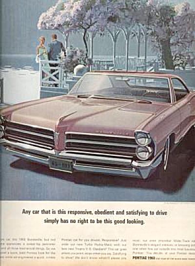 1965 PONTIAC BONNEVILLE Ad (Image1)