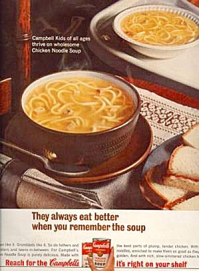 1965 Campbell's Soup Ad