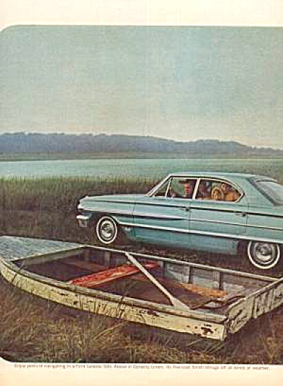 1964 FORD GALAXIE 500 Ad in Dynasty Green (Image1)