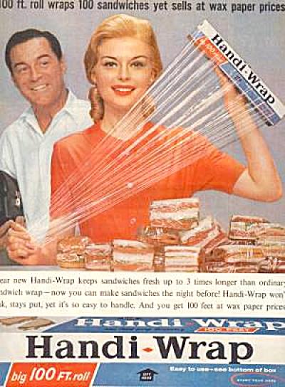 1961 HANDI-WRAP Ad (Image1)