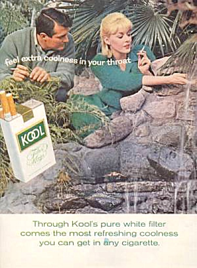 1964 KOOL Cigarettes Waterfall AD (Image1)