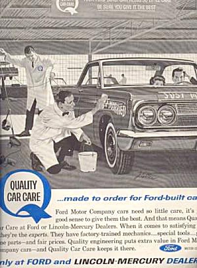 1964 LINCOLN MERCURY Ad (Image1)