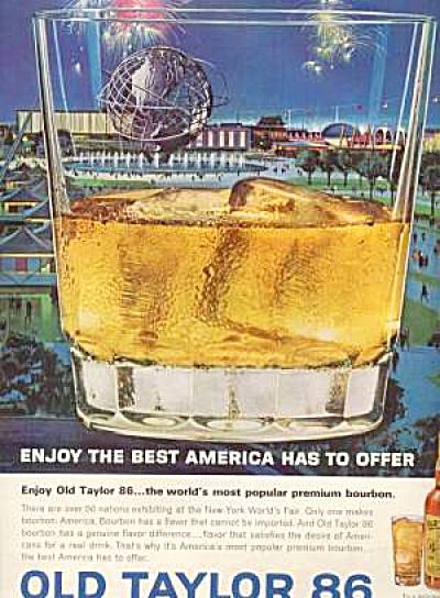 1964 OLD TAYLOR 86  NY  Ad (Image1)